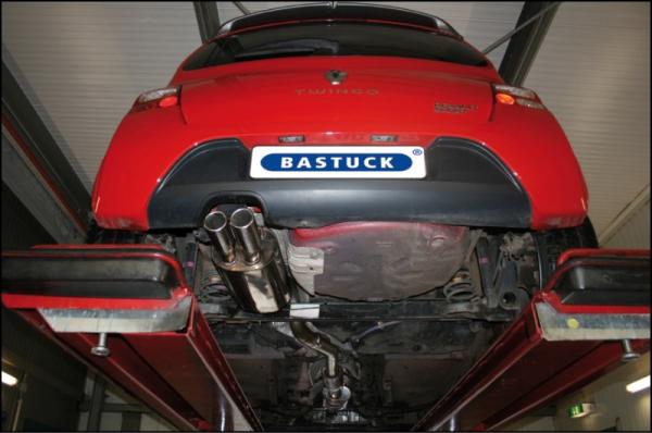 Bastuck Stainless Steel Exhaust 63,5mm Renault Twingo N, no Turbo